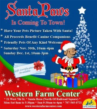 Santa Paws 2013