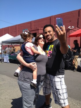 Picture yourself at the West End Farmers Market!