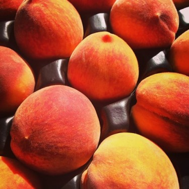 Get delicious, juicy peaches at WEFM on Sunday!