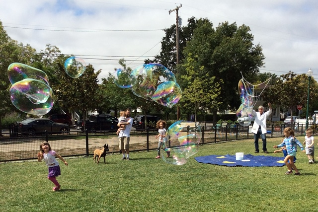 West End Neighborhood Family Bubble Party