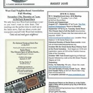 West End News- September Events