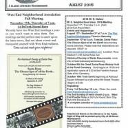 West End News- September Events