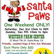 Santa Paws at Western Farm Center This Weekend