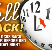 West End Update: Fall Back Time Change- Sleep in on Sunday