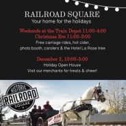 Start the 2017 Holidays in Railroad Square
